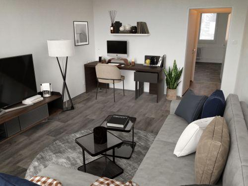 Pronájem bytu 2+1 55 m2, ul. Plzeňská  1125/1, Ostrava - Hrabůvka
