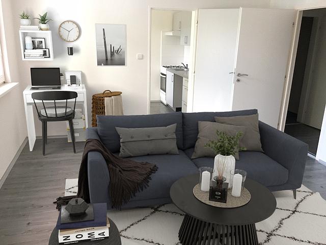 Pronájem bytu 2+1 44 m2, ul. Jana Maluchy 206/57, Ostrava - Dubina